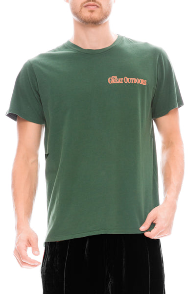 Pasadena Leisure Club Great Outdoors T-Shirt in Green