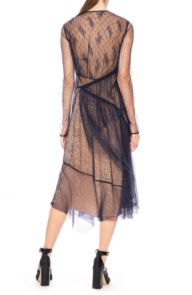 Silk Tulle Dress