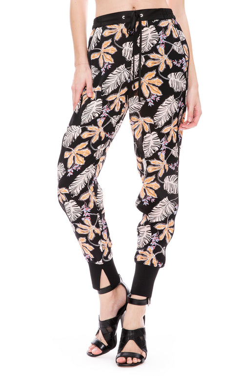 3.1 Phillip Lim Floral Crepe Jogger Pants at Ron Herman