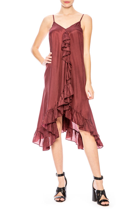 Ruffle Front Cami Dress