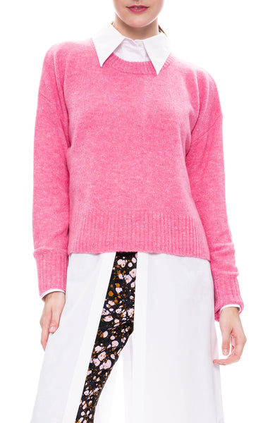 A.L.C. Emmeline Pullover Sweater in Taffy Pink at Ron Herman