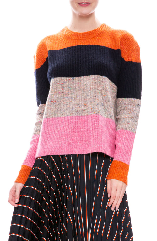 A.L.C. Georgia Multi Stripe Sweater at Ron Herman