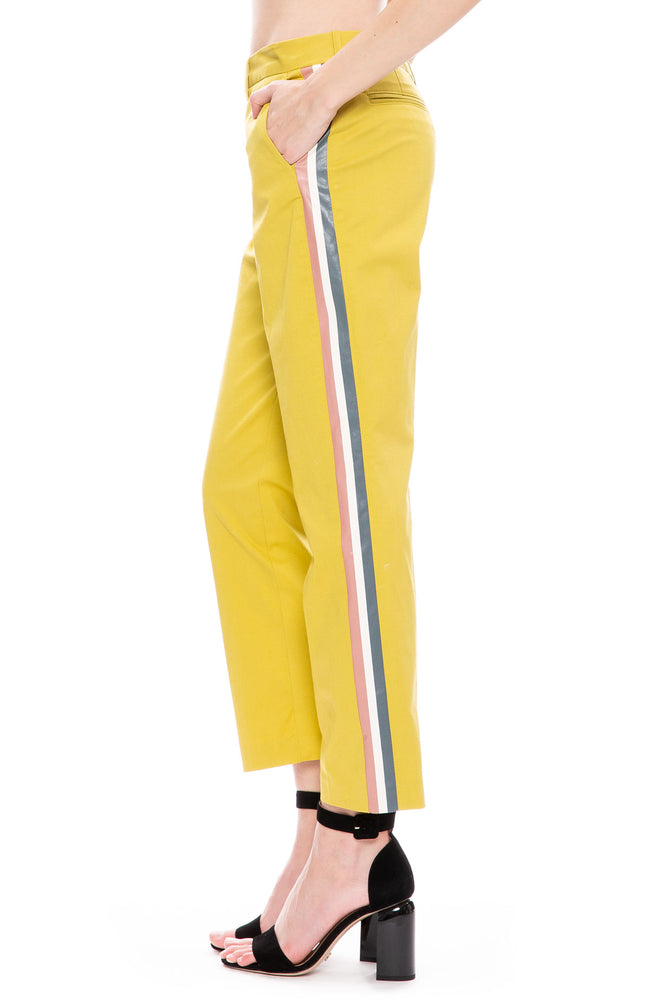 Le Superbe St. Honore Pants in Citrine at Ron Herman