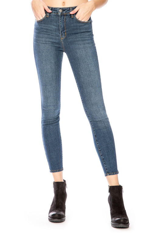 L'Agence Margot High-Rise Skinny Jean in Dark Vintage at Ron Herman