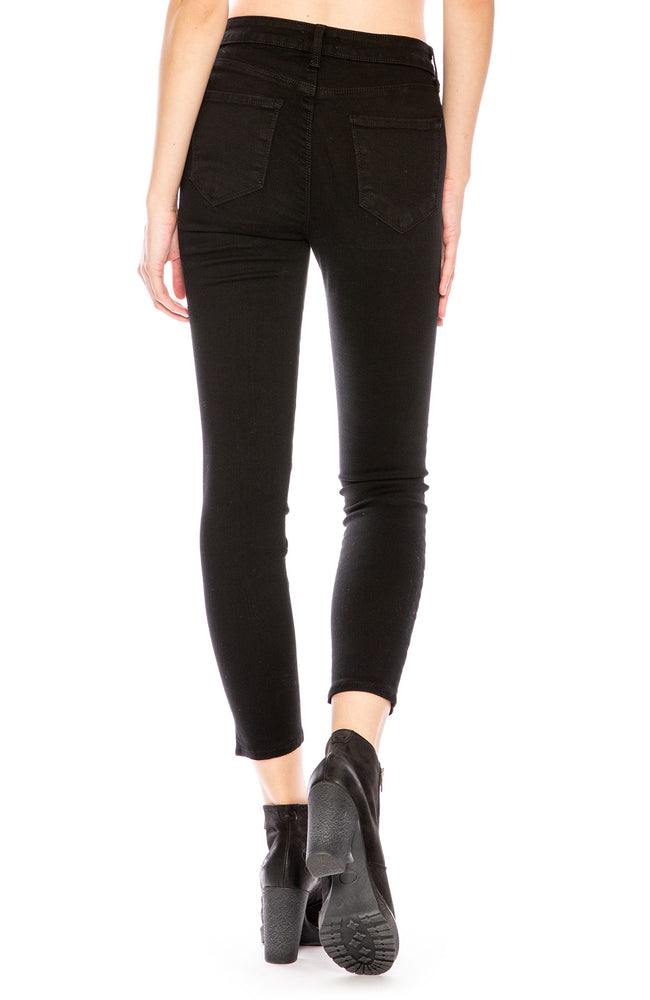 L'Agence Margot High Rise Skinny in Noir at Ron Herman
