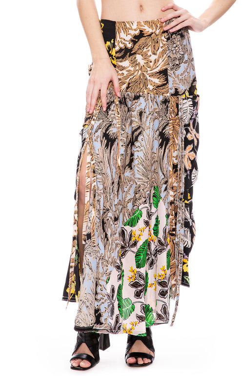 3.1 Phillip Lim A-Line Patchwork Skirt at Ron Herman