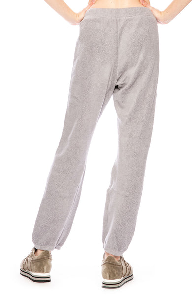 Stateside Sherpa Sweatpants in Silver Grey at Ron Herman
