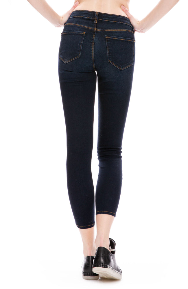 L'Agence Mazzy Low Rise Jeans in Lapis at Ron Herman