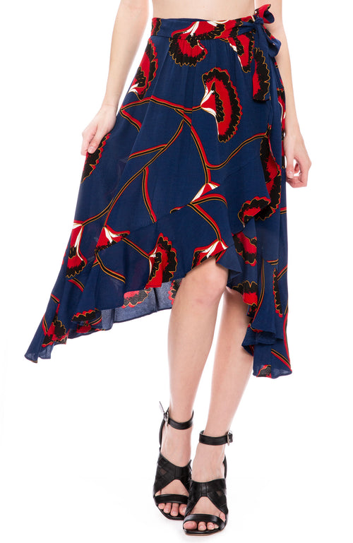 BA&SH Lena Skirt at Ron Herman