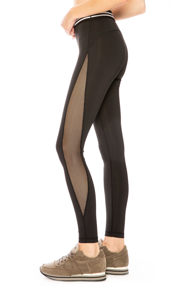 Kendall + Kylie Metallic Mesh Legging at Ron Herman