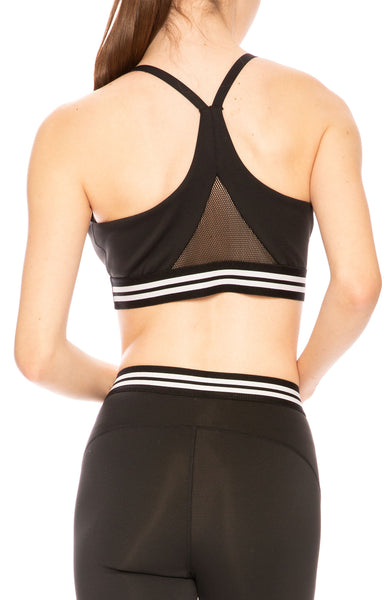 Kendall + Kylie Stripe Tape Sports Bra at Ron Herman