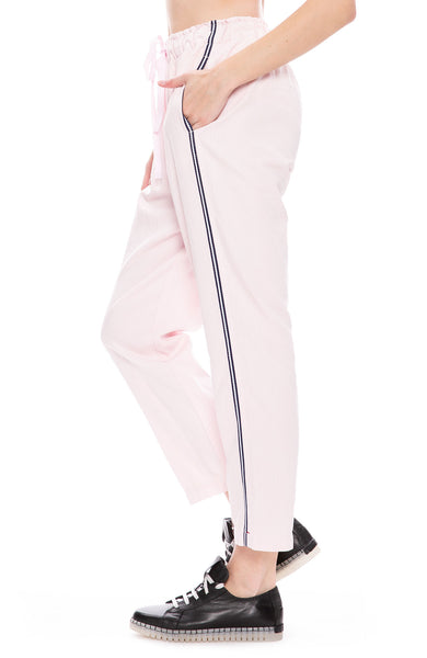 Xirena Rex Twill Side Stripe Pants in Pink Wave at Ron Herman