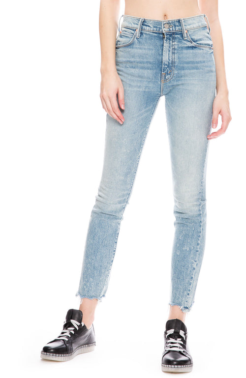 Mother Stunner Ankle Chew Jean at Ron Herman