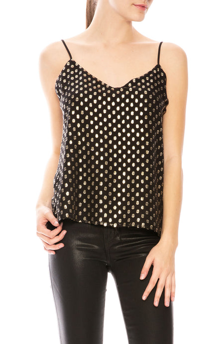 Jane Metallic Dot Cami