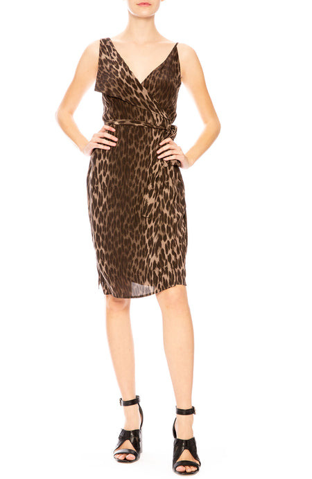 Julieta Leopard Print Dress