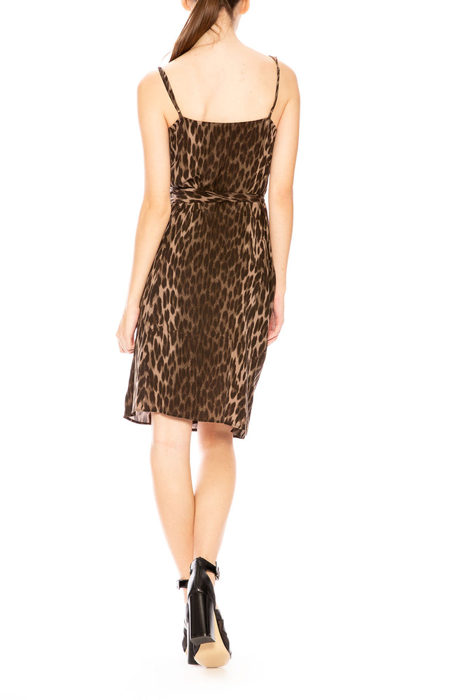 L'Agence Julieta Leopard Print Dress at Ron Herman