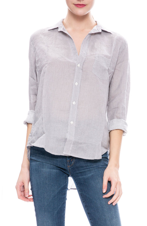 Frank & Eileen Linen Eileen Shirt at Ron Herman