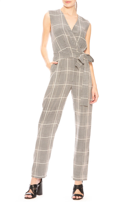 Julia Plaid Jumpsuit