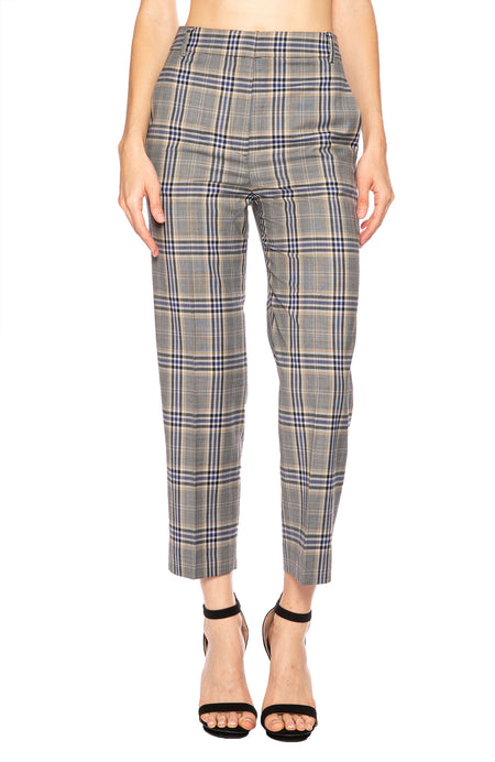 Taylor Lucas Suiting Plaid Pant