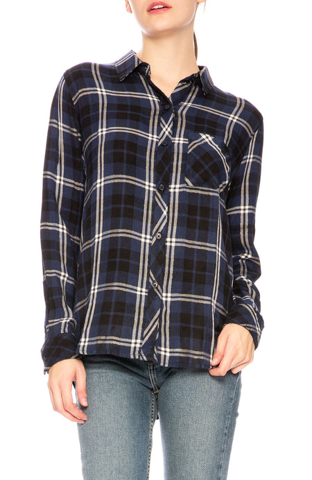Hunter Plaid Button Down Shirt