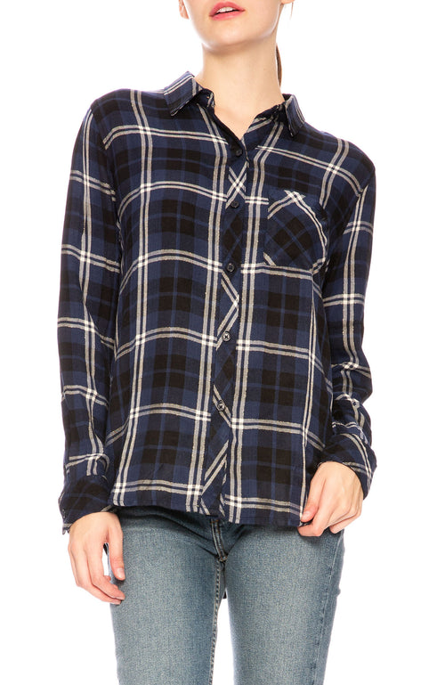 Rails Hunter Plaid Button Down Shirt at Ron Herman