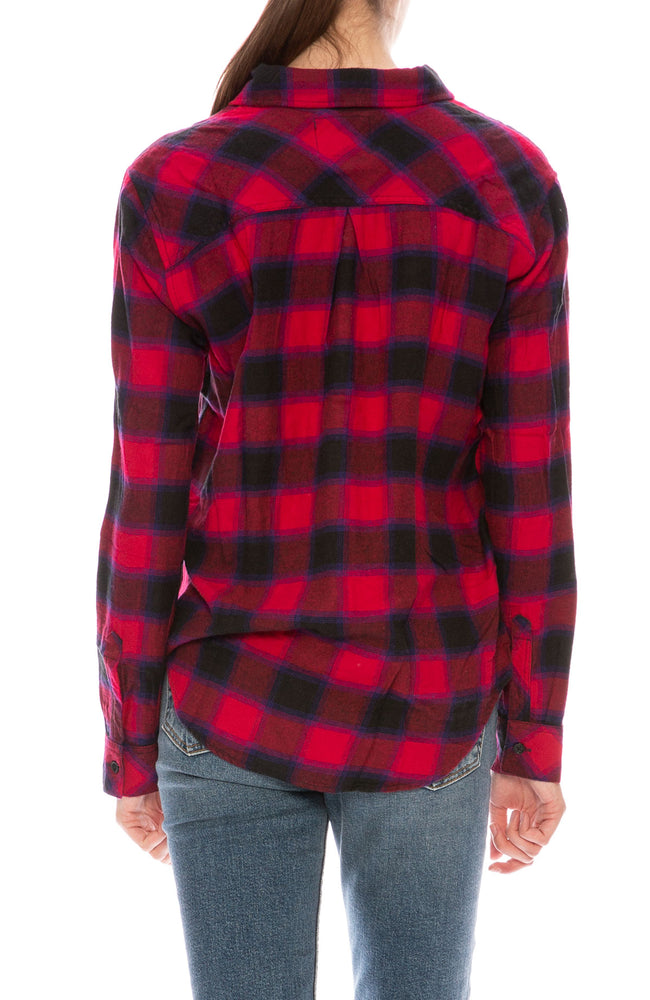 Rails Milo Plaid Shirt at Ron Herman