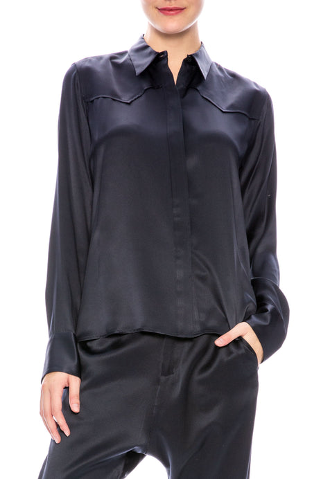 Mica Silk Shirt