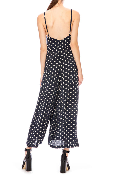 Icons Winona Polka Dot Wide Leg Jumpsuit at Ron Herman