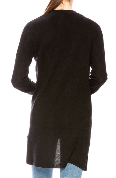ATM Cashmere Cardigan in Black at Ron Herman
