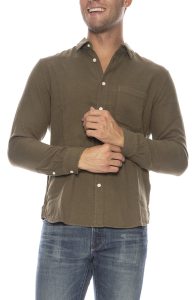 Slim Double Gauze Shirt
