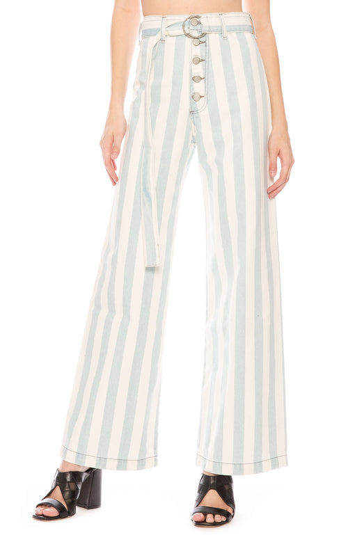 Her by Boyish Charley Striped Jeans at Ron Herman
