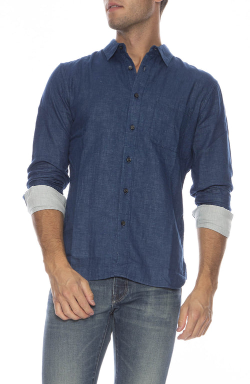 Chambray French Seam Shirt