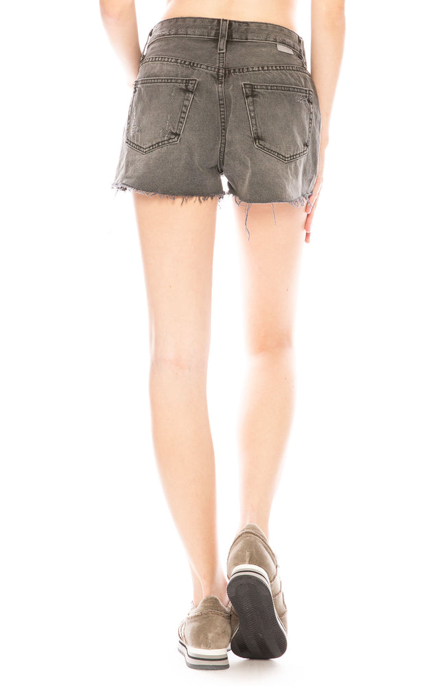 Boyish Cody High Rise Cut Off Shorts in Octopussy at Ron Herman