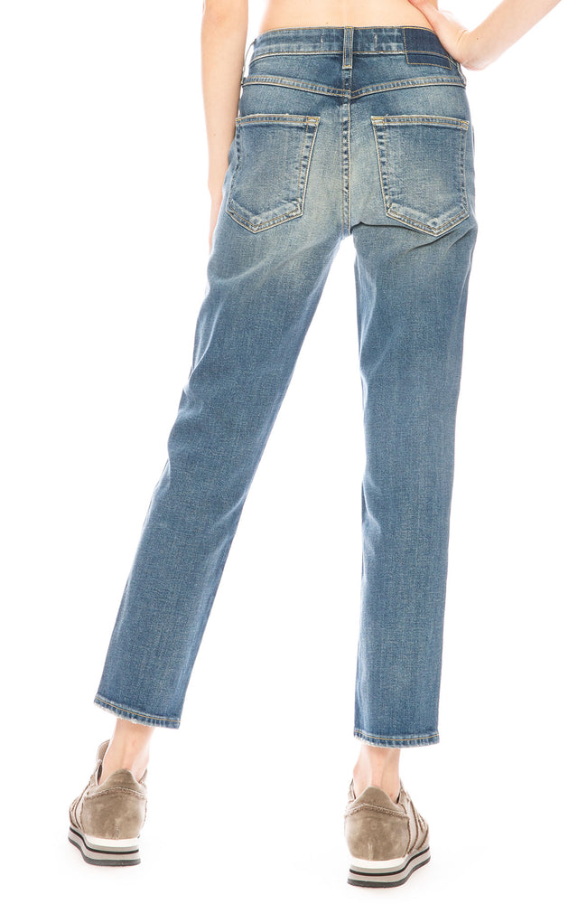 AMO Babe Jean with Hem in Tried & True at Ron Herman