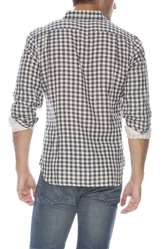 Double Gauze Gingham Shirt