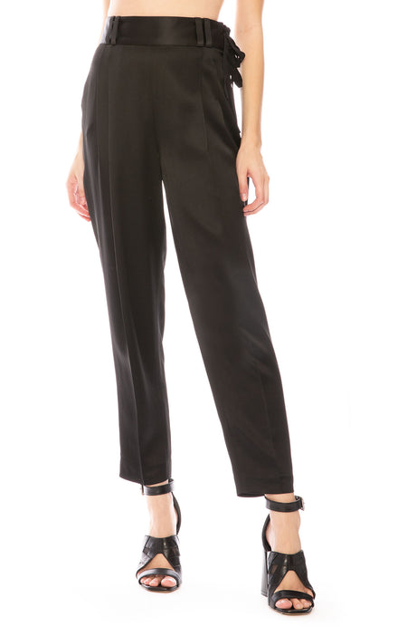 Crepe Pant with Waist Tie