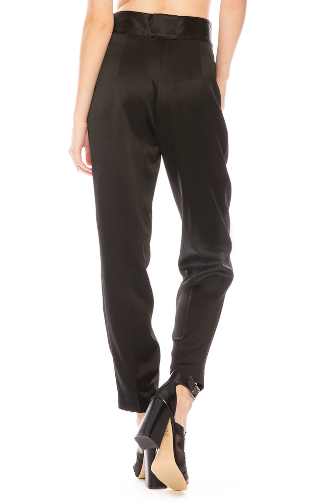3.1 Phillip Lim Tailored Crepe Pants in Black at Ron Herman