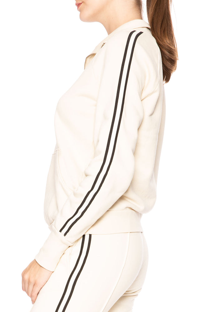 NSF Camilla French Vanilla Pullover Athletic Sweatshirt at Ron Herman