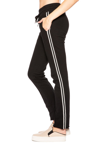 NSF Black Robin Track Pants at Ron Herman