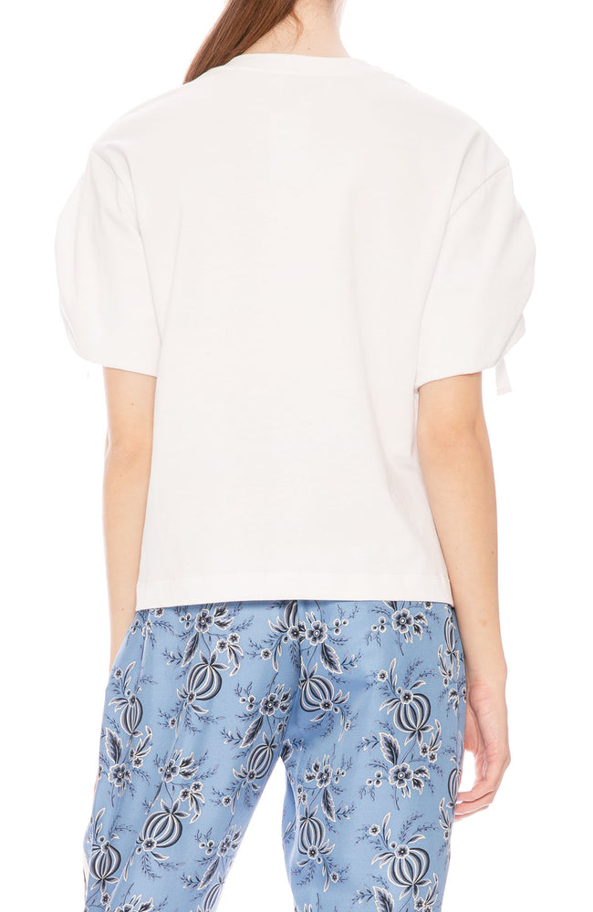 3.1 Phillip Lim Gathered Sleeve T-Shirt at Ron Herman