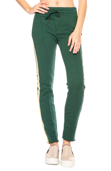 NSF Deep Greenery Robin Track Pants at Ron Herman