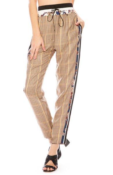 3.1 Phillip Lim Checkered Floral Jogger at Ron Herman