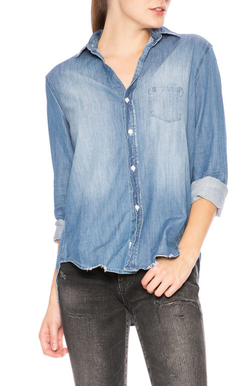 Frank & Eileen Stonewashed Denim Shirt at Ron Herman