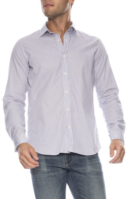Sammy Striped Button Down Shirt