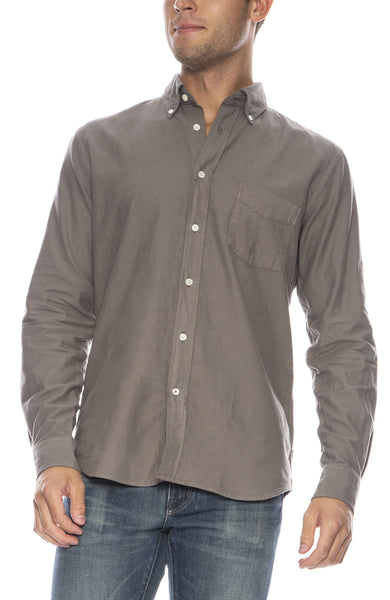 Paul Pat Heather Flannel Button Down Shirt