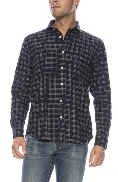 Paul Checkered Flannel Button Down