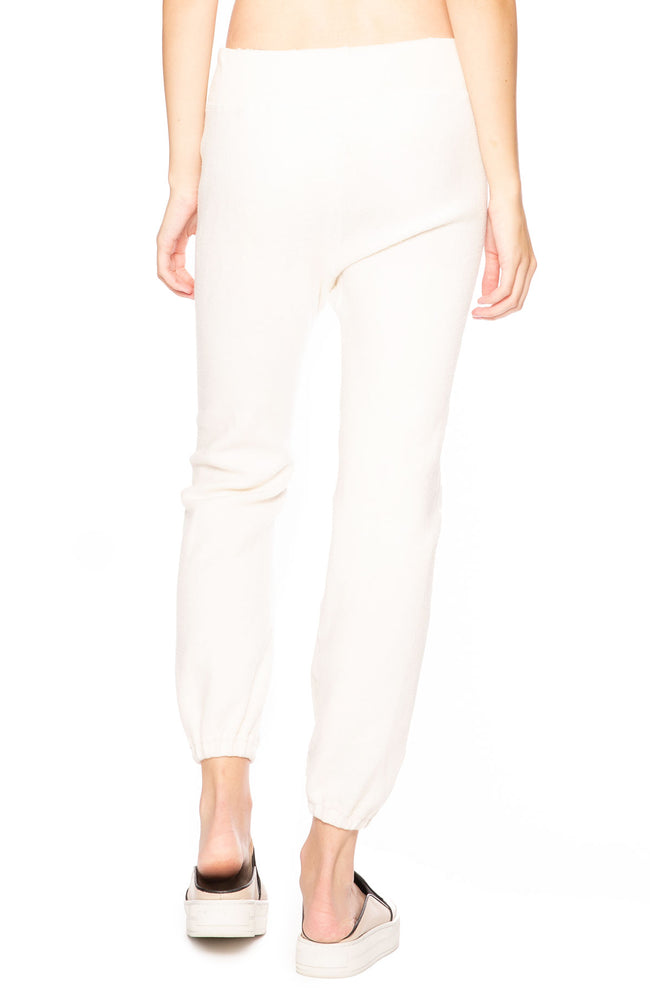 The Great Sherpa Sweatpants in Washed White at Ron Herman