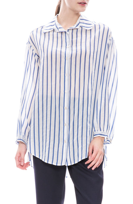 Voile Stripe Shirt