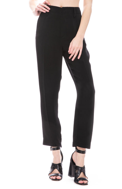 Forte Forte Crepe Pants in Nero Black