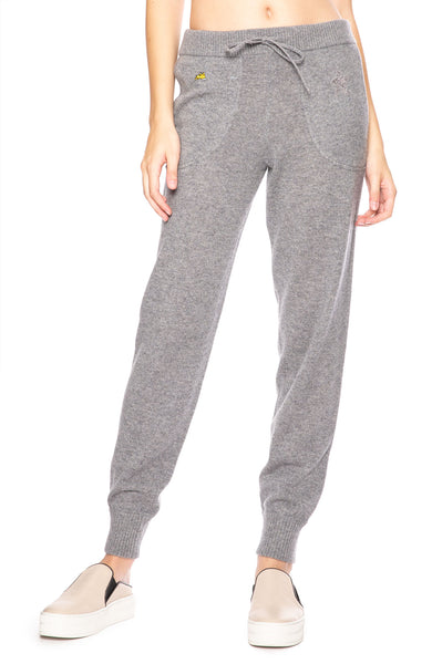 Bella Freud Star Spangled Cashmere Sweatpants in Gray at Ron Herman